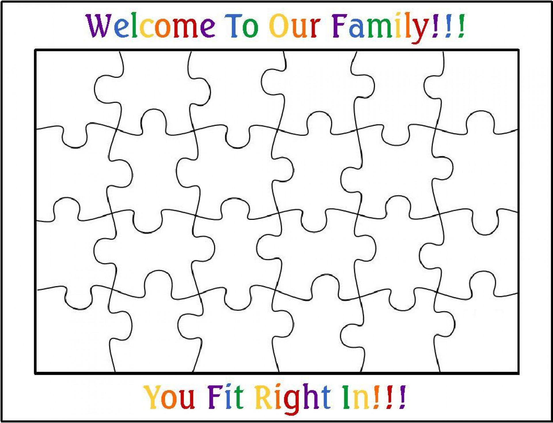002 Blank Puzzle Pieces Template Ideas Best Jigsaw Piece Printable - Printable 3 Puzzle Pieces