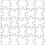 006 Jigsaw Puzzle Blank Template Twenty Pieces Simple Jig Saw   Printable Jigsaw Puzzle Generator
