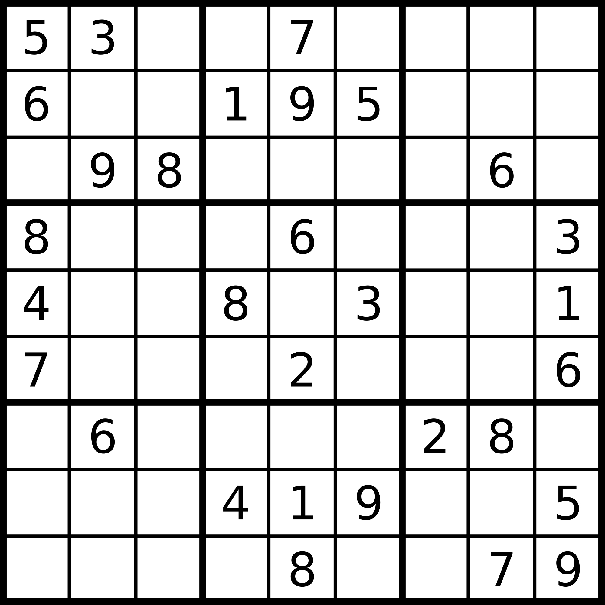 1 Million Sudoku Games | Kaggle - Printable Sudoku Puzzles 9X9