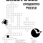 10 Best Photos Of Printable Halloween Word Puzzles   Halloween Word   Printable Halloween Crossword Puzzles Word Searches