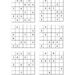 10 Best Photos Of Printable Sudoku For Kids 6   Easy 6X6 Sudoku   Sudoku Puzzles Printable 6X6