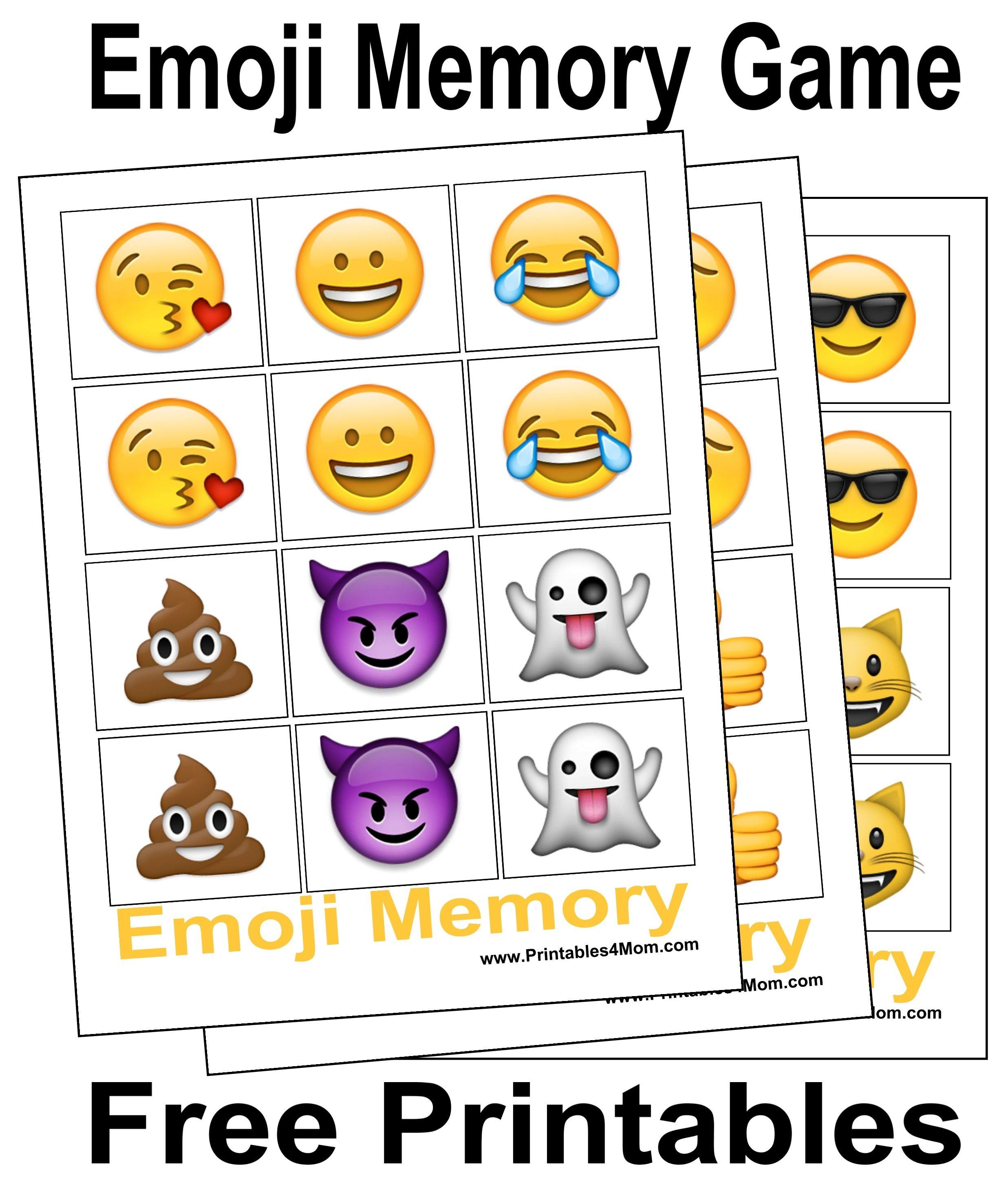 10 Free, Last Minute Printable Stocking Stuffer Games   Emotions - Printable Emoji Puzzles