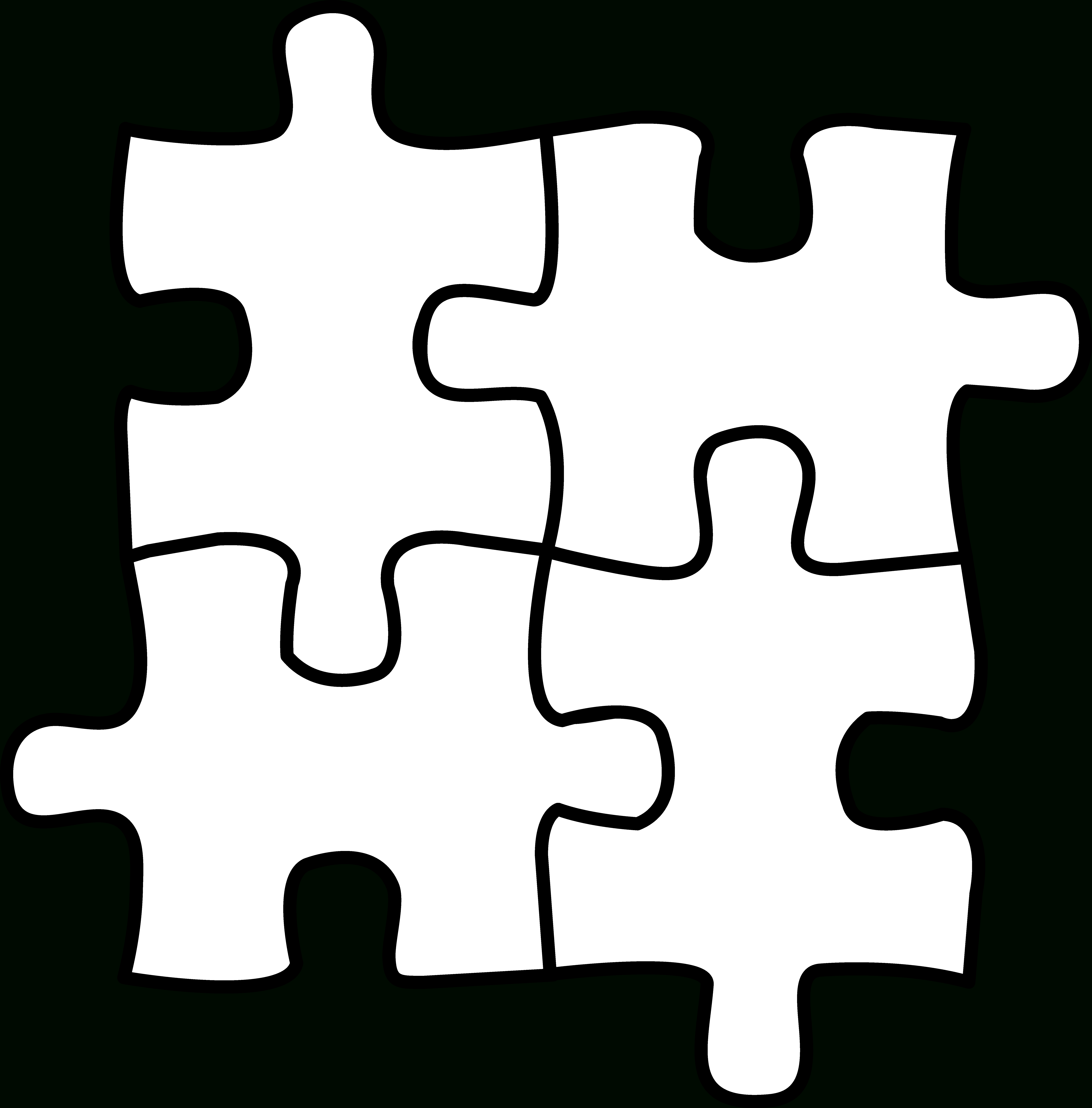 10 Pics Of Puzzle Piece Coloring Pages Of Letters - Autism Puzzle - Free Printable Autism Puzzle Piece