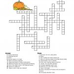 10 Superfun Thanksgiving Crossword Puzzles | Kittybabylove   Printable Turkey Puzzle