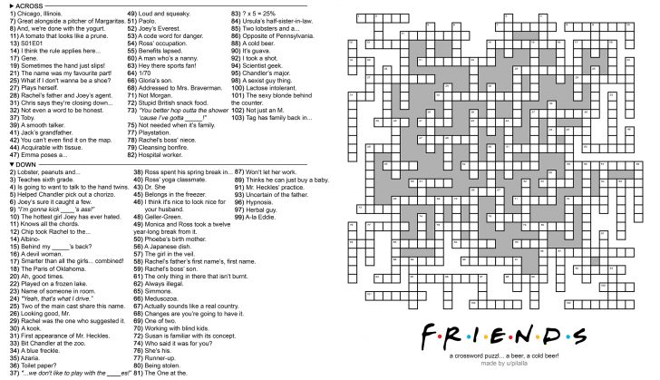Printable Crossword Puzzles For December 2018