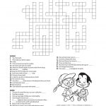 11 Dental Health Activities Puzzle Fun (Printable) | Dental Hygiene   Printable Mental Health Crossword Puzzle