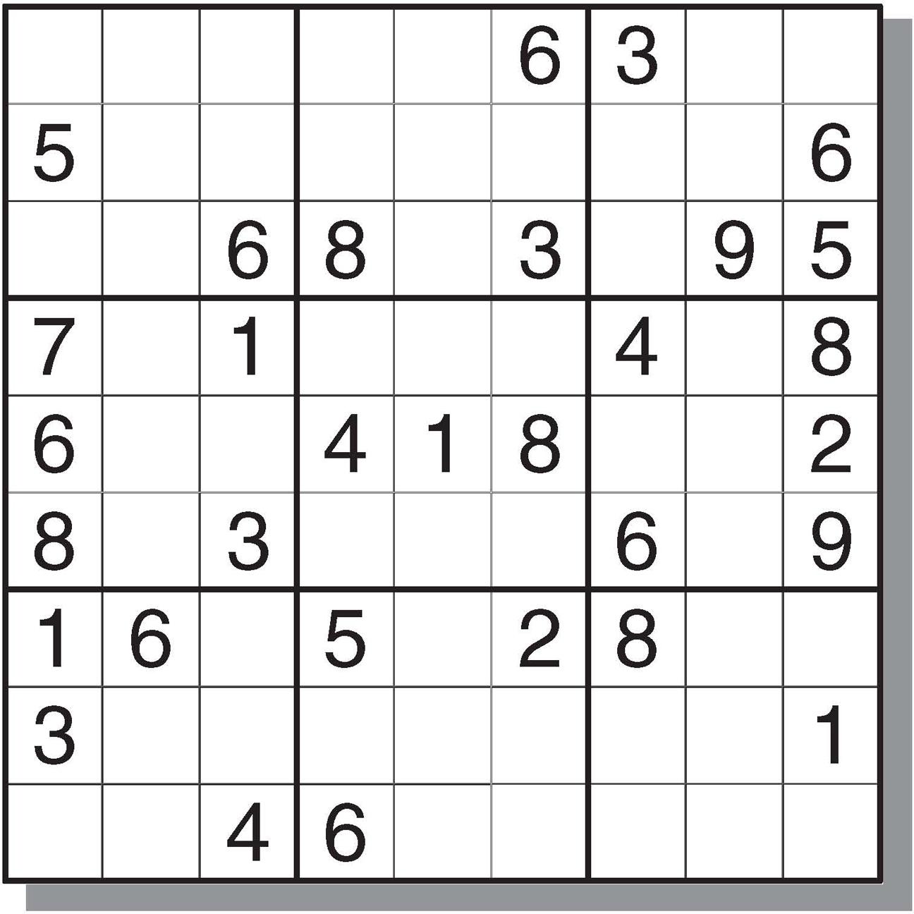 12 Best Photos Of Printable Sudoku Sheets - Printable Sudoku Puzzles - Printable Sudoku Puzzle With Answer Key