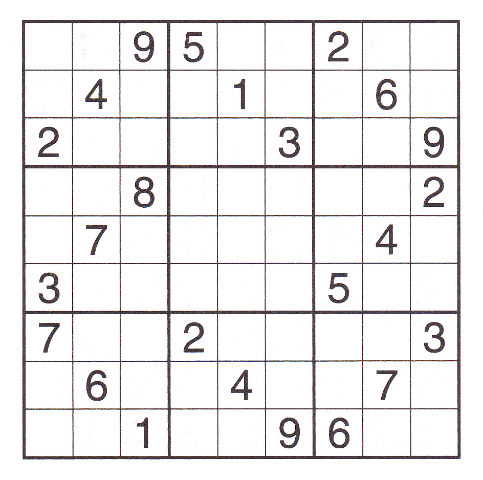 12 Best Photos Of Printable Sudoku Sheets - Printable Sudoku Puzzles - Printable Sudoku Puzzles Uk