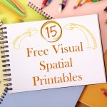 15 Free Visual Spatial Printables   Your Therapy Source   Printable Visual Puzzles