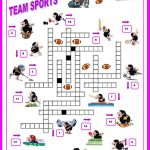 16 Free Esl Sports Crossword Worksheets   Free Printable Sports   Sports Crossword Puzzles Printable