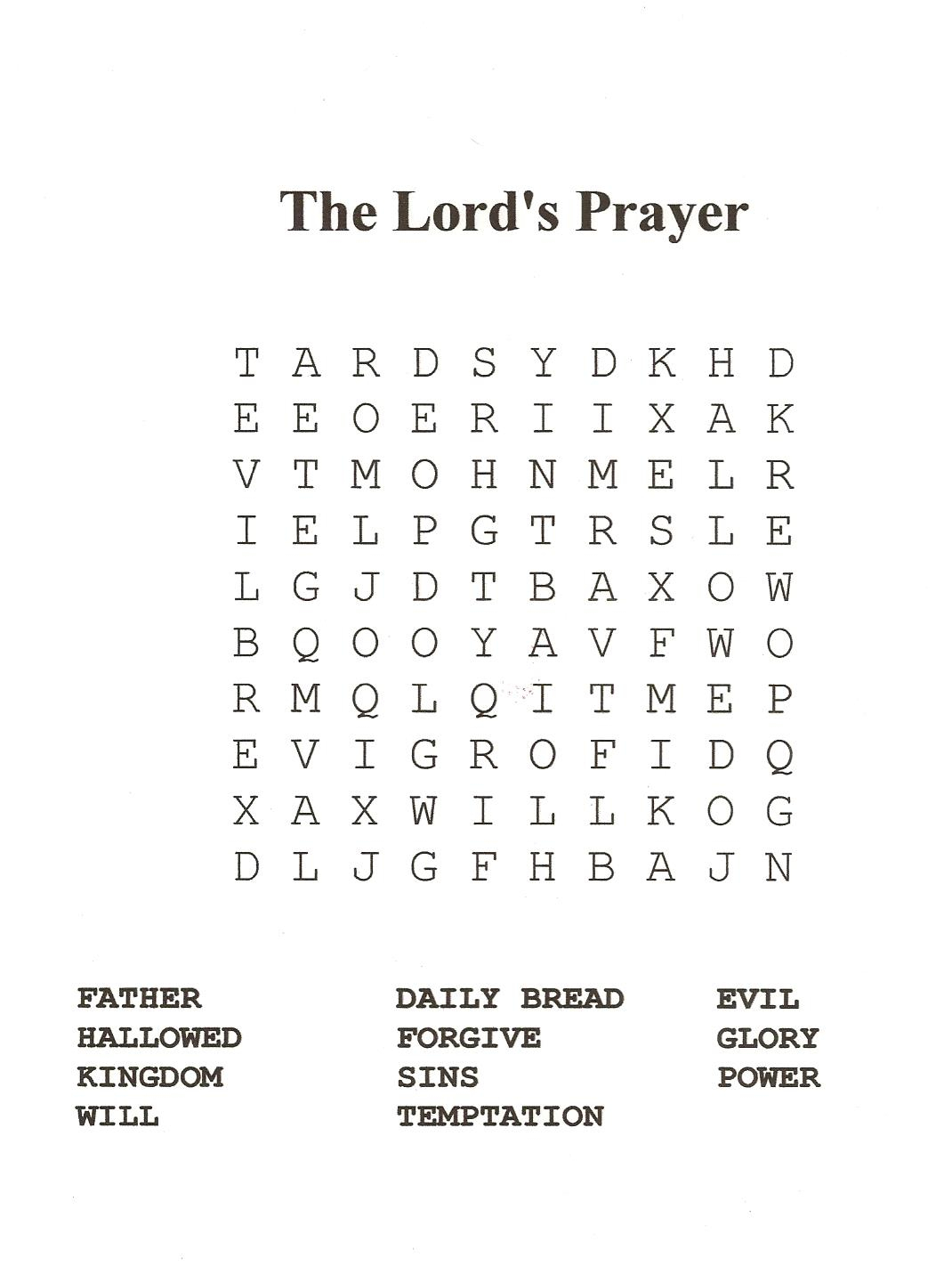 18 Fun Printable Bible Word Search Puzzles | Kittybabylove - Printable Bible Puzzles