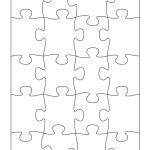 19 Printable Puzzle Piece Templates ᐅ Template Lab   Printable 4 Piece Puzzle Template