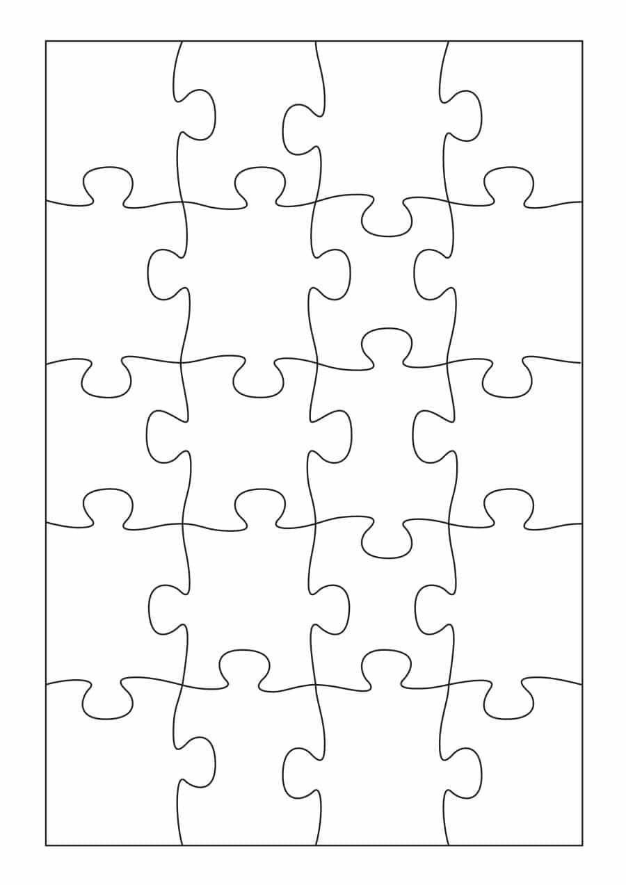 19 Printable Puzzle Piece Templates ᐅ Template Lab - Printable Giant Puzzle