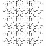 19 Printable Puzzle Piece Templates ᐅ Template Lab   Printable Interlocking Puzzle Pieces