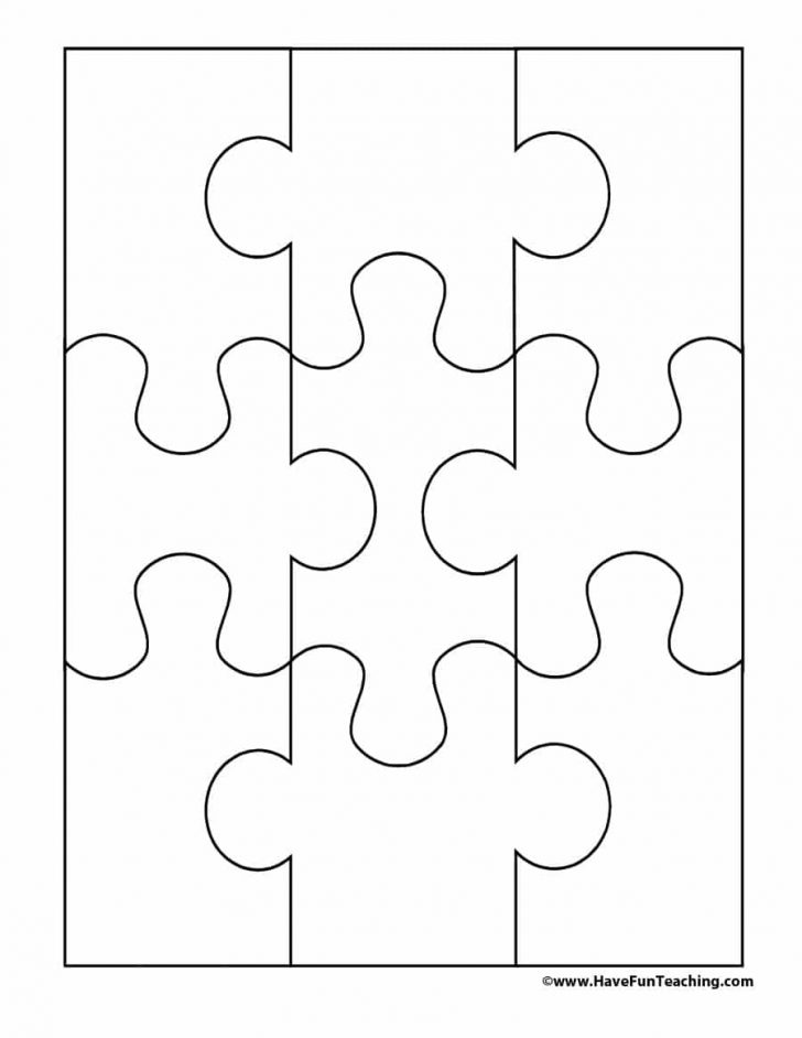 Printable Puzzle Template