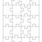 19 Printable Puzzle Piece Templates ᐅ Template Lab   Printable Puzzle Template 8.5 X 11