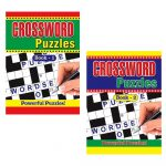2 X Large Print Crossword Puzzle Books Book 325 Puzzles A4 Pages – Puzzle Print Uk