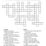 223 Best Images About Crossword Puzzles On Pinterest – Recipe   Printable Crossword Puzzles For Tweens
