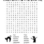 26 Spooky Halloween Word Searches   Kittybabylove   Free Printable   Printable October Puzzles