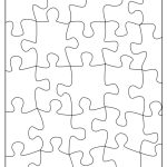 29 Images Of 16 Piece Jigsaw Puzzle Template 8.5X11 | Sofond   Printable Puzzle Template 8.5 X 11