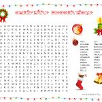 31 Free Christmas Word Search Puzzles For Kids   Free Printable Christmas Crossword Puzzles