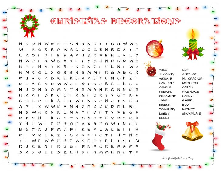 Free Printable Christmas Crossword Puzzles