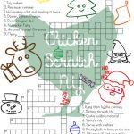 37 Fun Christmas Printables To Enjoy While Waiting For Santa     Printable Santa Puzzle