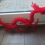 3D Printed 3D Printable Dragon Puzzleels Meulendijks | Pinshape   Printable Dragon Puzzle