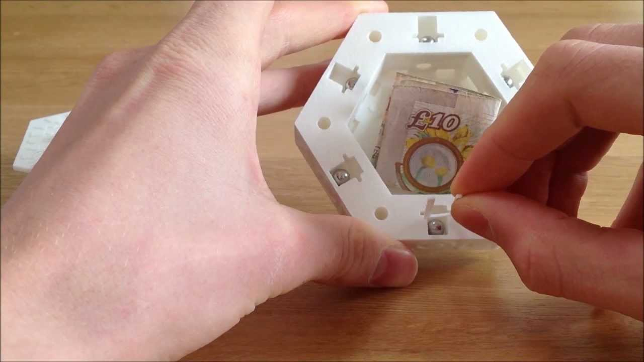 3D Printed 'centrifugal Puzzle Box' - Adding A New Spin To Puzzle - 3D Printable Lock Puzzle