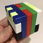 3D Printed Printable Interlocking Puzzle #4   Level 11Richgain   Printable Burr Puzzle