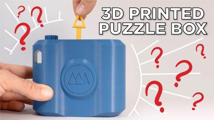 3D Print Puzzle Lock