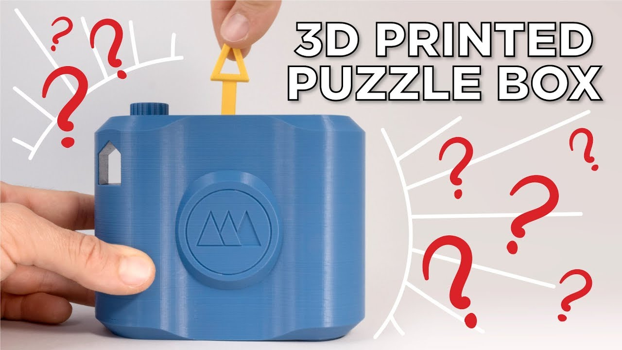 3D Printed Puzzle Box And Lockpick Puzzles - Youtube - 3D Printable Puzzles