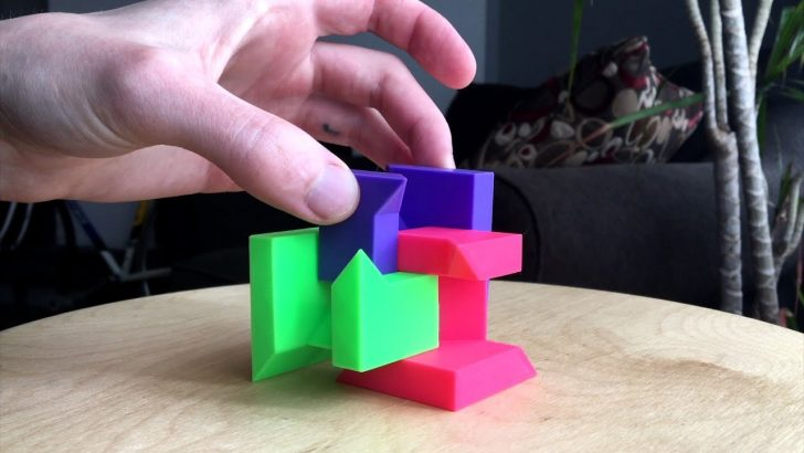3D Printable Puzzles Cube
