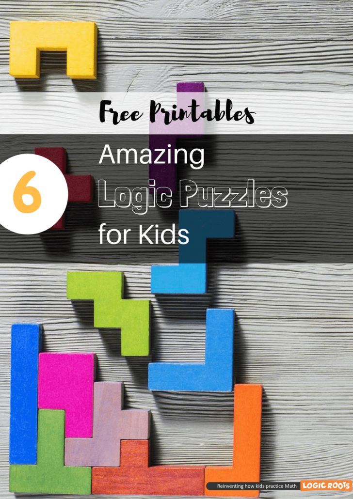 Printable Logic Puzzles For 5Th Grade