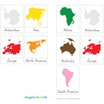 7 Continents Coloring Page | Free Download Best 7 Continents   7 Continents Printable Puzzle