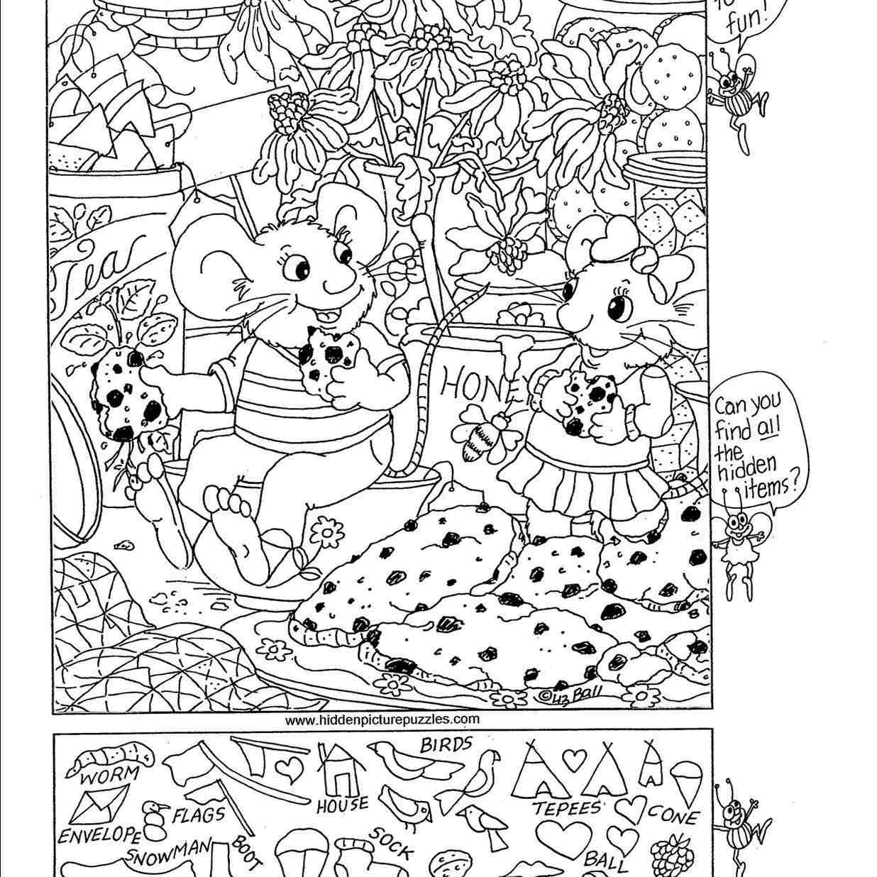 7 Places To Find Free Hidden Picture Puzzles For Kids - Free - Printable Hidden Puzzles