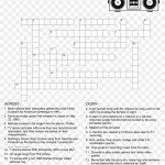 80's Crossword Puzzle   Crossword Puzzle Free Printable, Hd Png   Printable Marathi Crossword Puzzles Download
