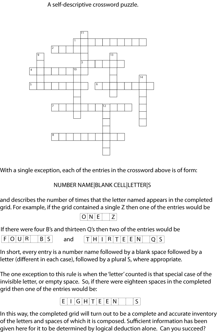 A Clueless Crossword | Paper Puzzles: Other Puzzles | Crossword - Printable Clueless Crossword Puzzles