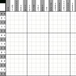 A Fun Picross Puzzle You Can Play With Pen And Paper Or With An Ipad   Printable Hanjie Puzzle
