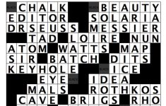 A Literary Crossword Puzzle From Thriller Author Christopher J – Printable Literature Crossword Puzzles