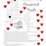 "A ""love"" For Words! Valentine's Day Crossword Puzzle   Printable Christian Valentine Puzzles"