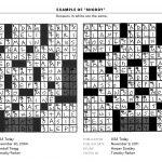 image regarding Boston Globe Crossword Printable named Printable Crossword Puzzles Boston Environment Printable