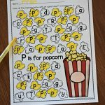 A To Z Letter Find | 123 Homeschool 4 Me   Letter P Puzzle Printable