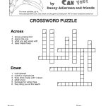 A Toucan Can Compound Word Crossword | Compound Words | Compound   Printable Compound Word Crossword Puzzle
