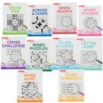 Aarp Large Print Puzzle Books, Set Of 10   Aarp Puzzle   Miles Kimball   Puzzle Print Reviews