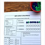 Abc's Of How To Read Binary Stem Activity With Printable   This Is A   Printable Binary Puzzles