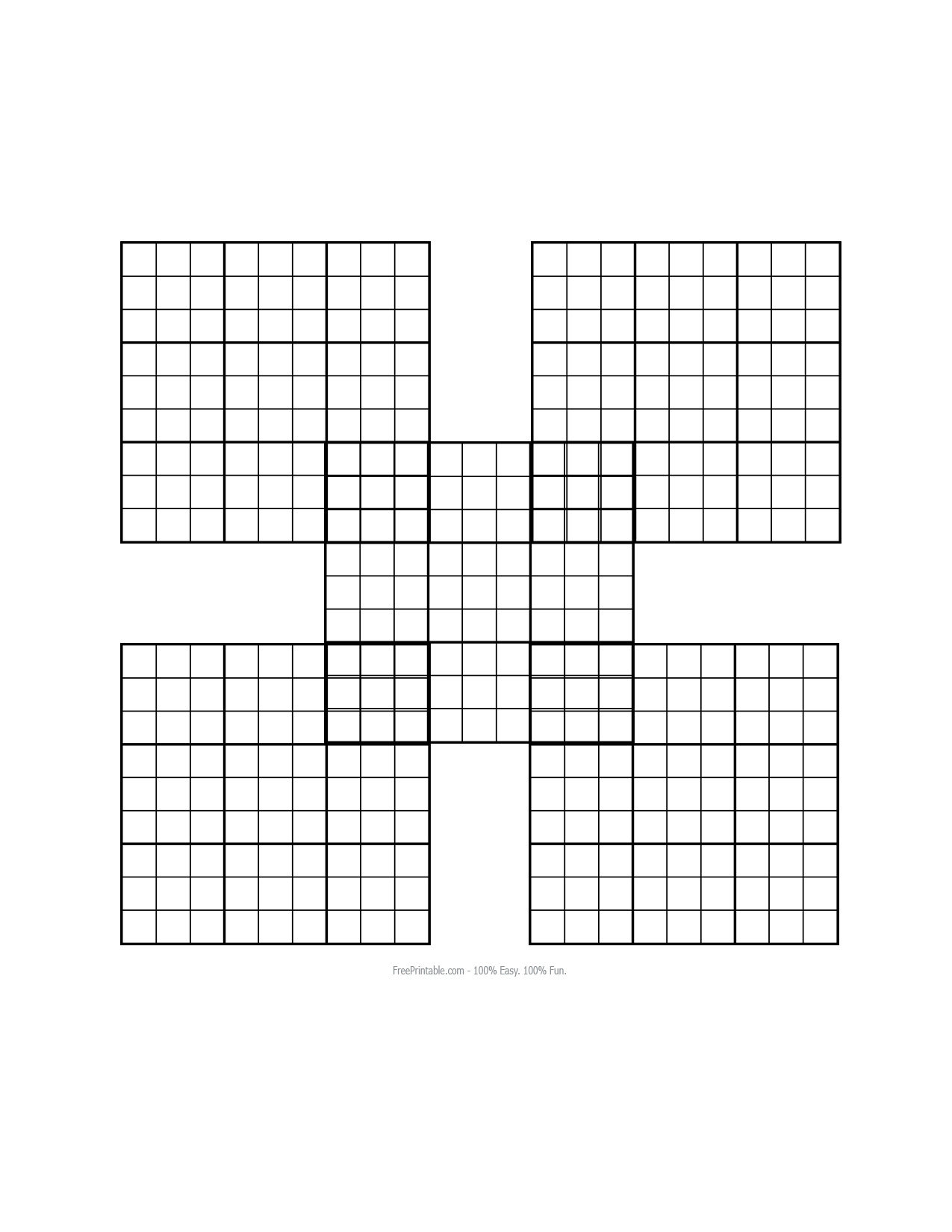About 'printable Sudoku Puzzles'|Printable Sudoku Puzzle #77 ~ Tory - Printable Puzzles For Inmates
