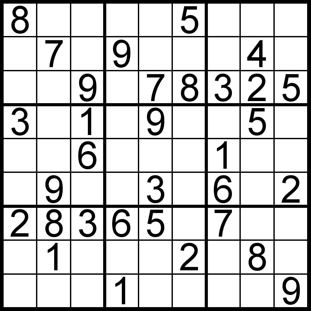 About 'printable Sudoku Puzzles'|Printable Sudoku Puzzle #77 ~ Tory - Printable Sudoku Puzzles 99