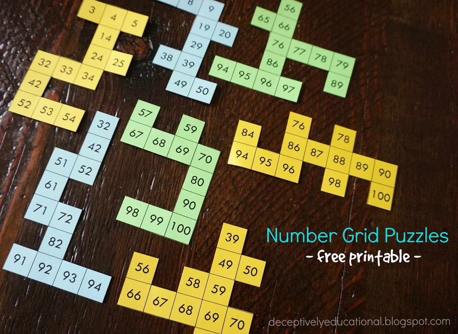 Addition And Subtraction Grid Puzzles - Printable Kenken Puzzle 7X7