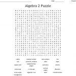Algebra 2 Puzzle Word Search   Wordmint   Algebra 2 Crossword Puzzles Printable